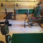 Mountain woman journals episode 15 staying fit primitive fire