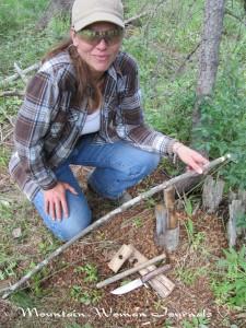 Mountain Woman Journals Survival Series 4 Primitive Fire