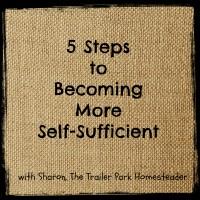 More Self-Sufficient