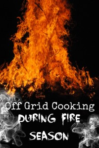 off grid cooking