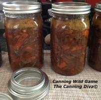 Canning Wild Game