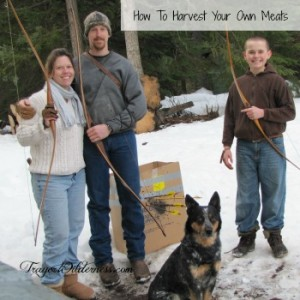 How To Harvest Your Own Meats